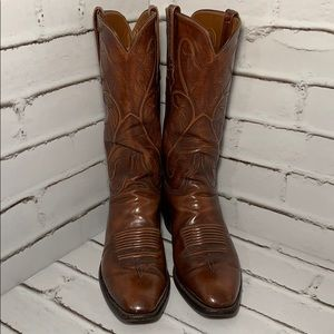 Lucchese Charlie One Horse Leather Boots